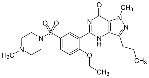 Sildenafil – składnik Viagra
